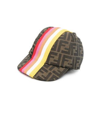 Fuchsia Stripes Cap