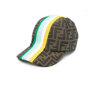 Green Stripes Cap
