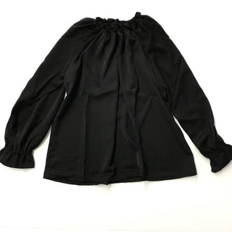 Omega Black Blouse