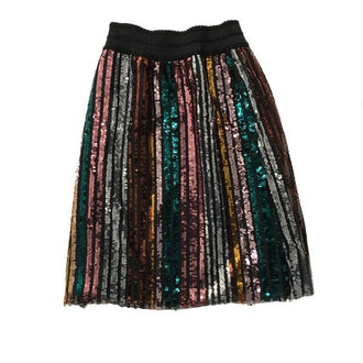 Peonia Sequin Skirt