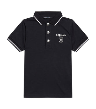 Black Logo Polo