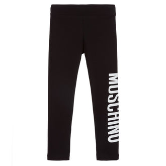 Black Legging with Logo