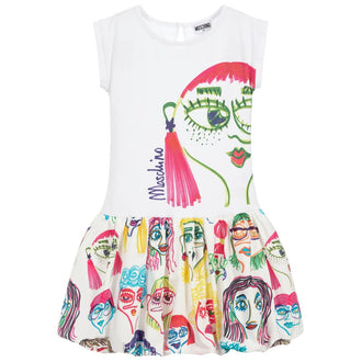 Girl Faces Dress