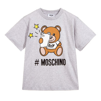 Grey Toy Bear Phone Tee