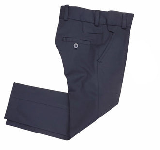 Navy Slim Scuba Pants