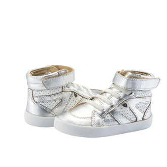Silver & Snow New Leader High Top