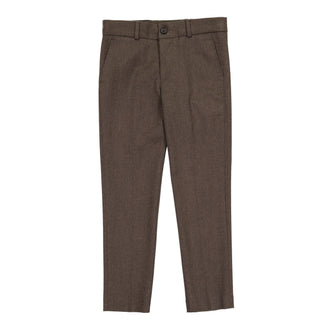 Brown Wool Like Pant