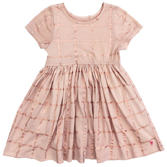 Cloud Pink With Rose Gold Steph Dress