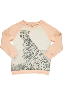Cheetah Print Sweatshirt