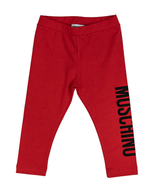 Red Logo Legging