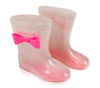 Rose Transparent Rainboots