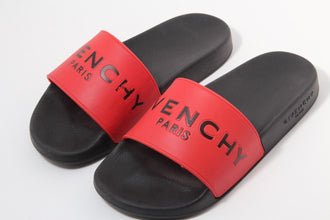 Red Logo Slides