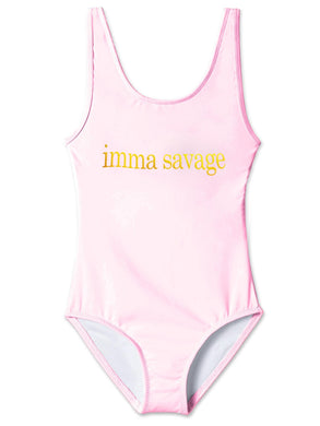'Imma Savage' Swimsuit