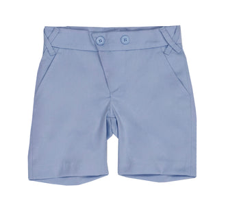 Light Blue Sateen Bermudas