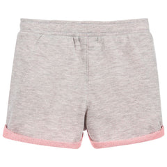 Grey Bi Color Shorts