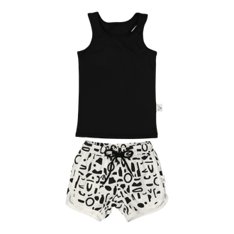 Abstract Shapes Swimshorts