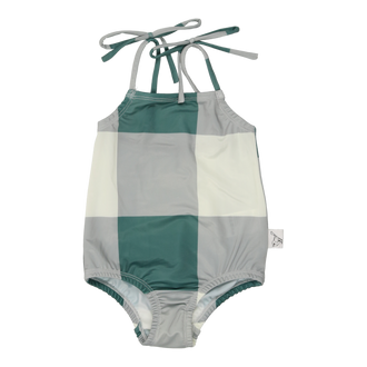Sage Colorblock Swimsuit