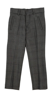 Heather Grey Wool-Like Pants