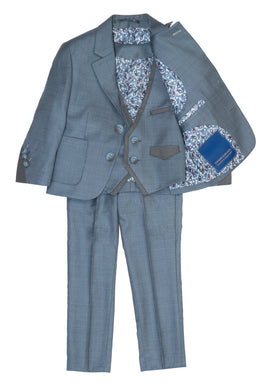 Light Blue 3 Piece Suit