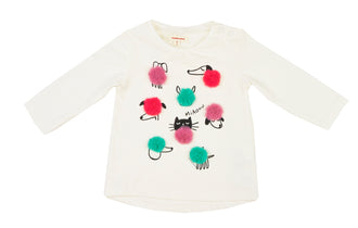 Fur Pom Kitty Tee