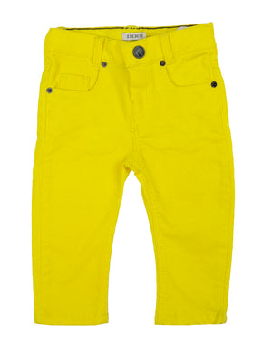 Yellow Cord Pants
