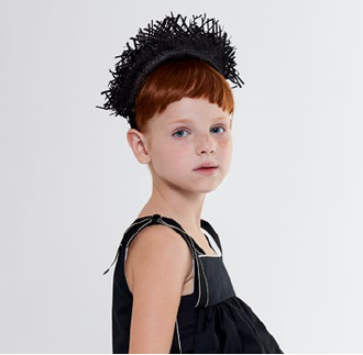 Black Fringe Headband