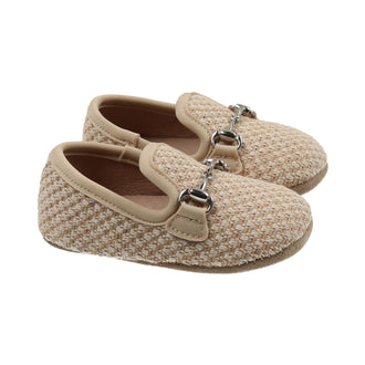 Latte Woven Loafer