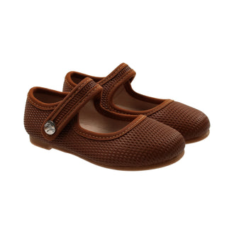 Walnut Classic Mary Jane