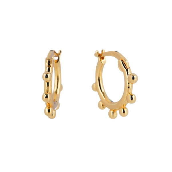 Binary Hoop Earrings