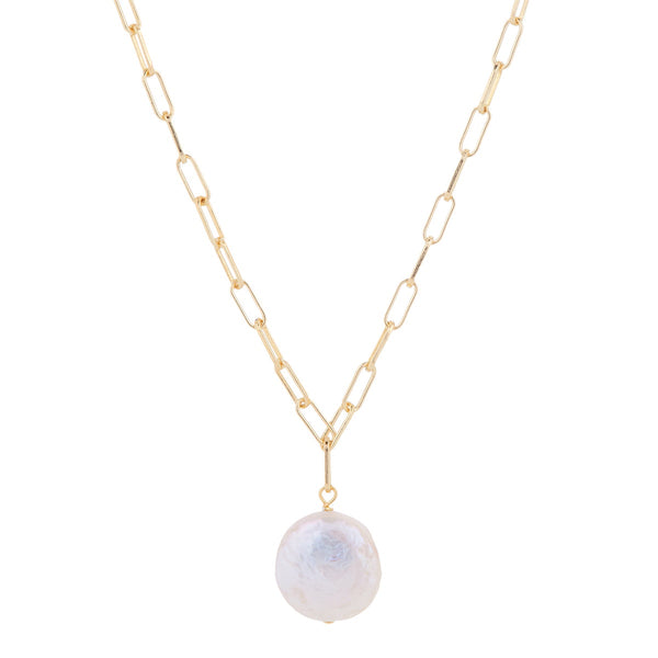 Ukiyo Pearl Drop Necklace