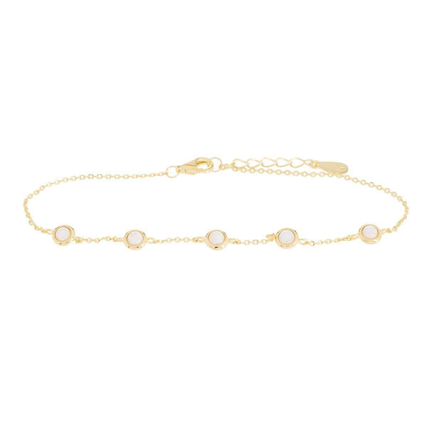 Ripples Opalite Bracelet Yellow 5 - Jewellery Shops Online - Bowerbird Jewels