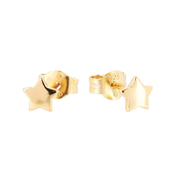 Star Stud Earrings Yellow 5 - Jewellery Shops Online - Bowerbird Jewels