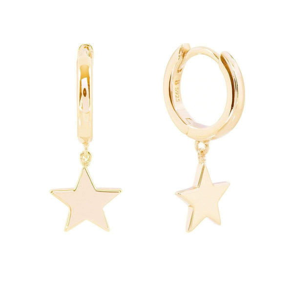 Twinkling Stars Earrings Yellow 5 - Jewellery Shops Online - Bowerbird Jewels