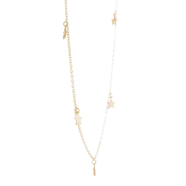 Twinkling Stars Necklace Silver 9 - Jewellery Shops Online - Bowerbird Jewels
