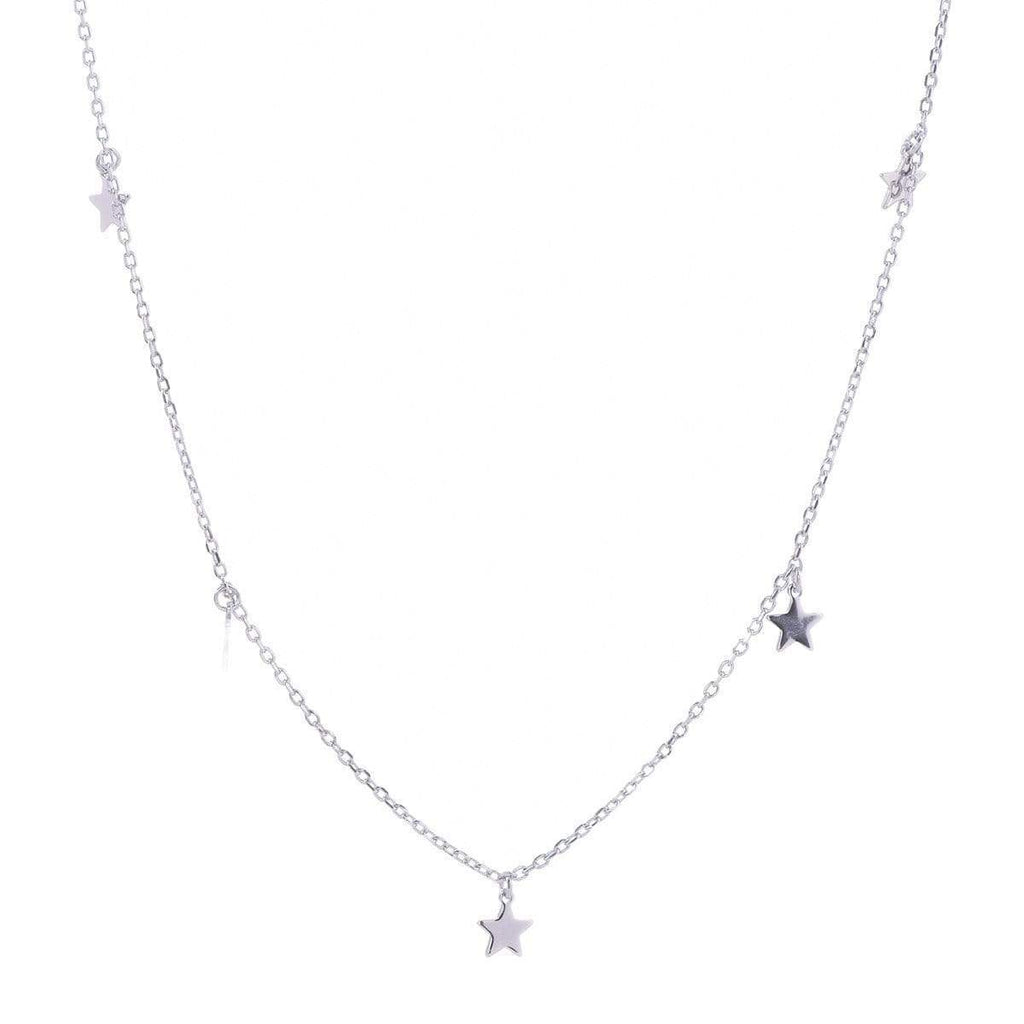 Twinkling Stars Necklace Silver 1 - Jewellery Shops Online - Bowerbird Jewels