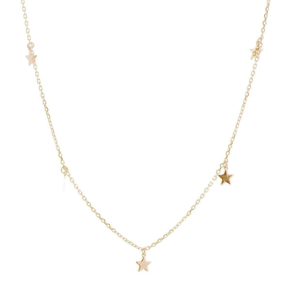 Twinkling Stars Necklace Yellow 8 - Jewellery Shops Online - Bowerbird Jewels