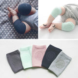 1 Pair Baby Knee Pads for Crawling - Adjustable Breathable Waterproof Safety Protector for Babies, Toddlers, Infants, Boys, Girls, Kids