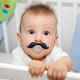 Funny Dummy  Pacifier Novelty Teeth Moustache Baby Soother  Safe Pacifier