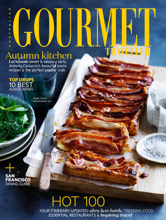 We're featured in Gourmet Traveller