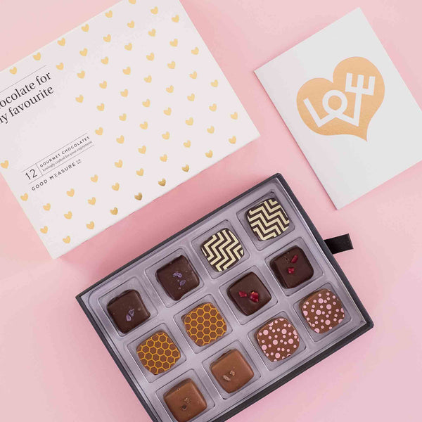Chocolate for my favourite <br> 12 Chocolate Truffles