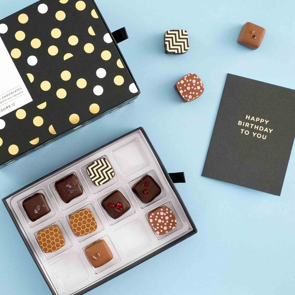 It's time to celebrate <br> 24 Chocolate Truffles