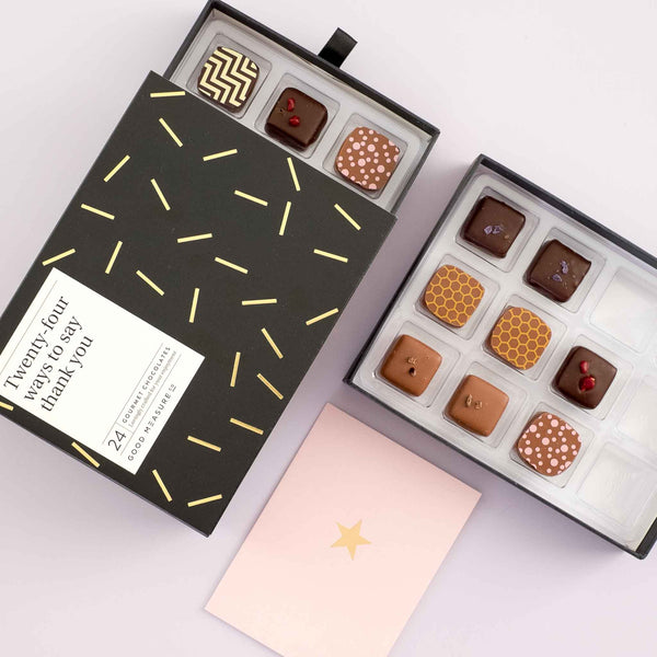 Twenty-four ways to say thank you <br> 24 Chocolate Truffles