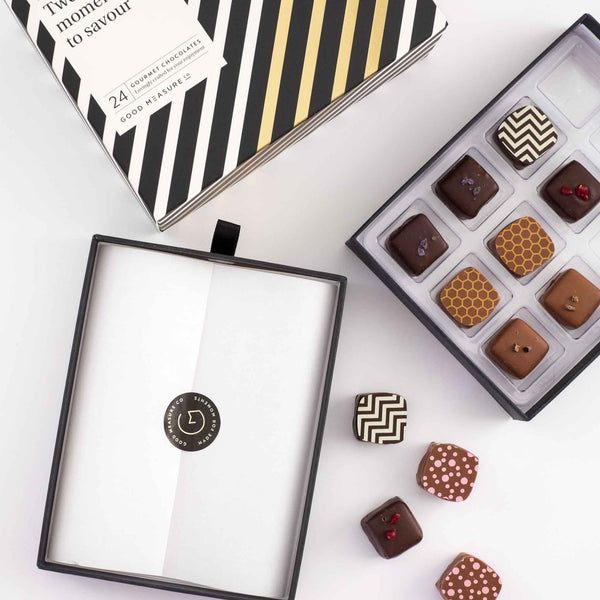 Twenty-four moments to savour <br> 24 Chocolate Truffles