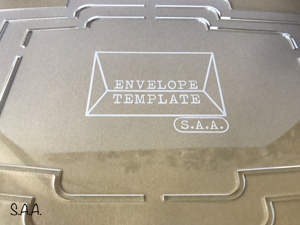 Envelope Template – Stationery Addicts Anonymous