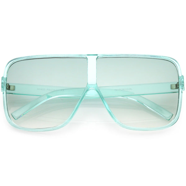 Translucent Square Sunglasses