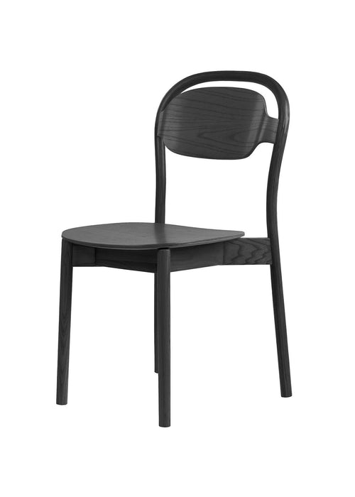 Osland Black Ash TImber Dining Chair