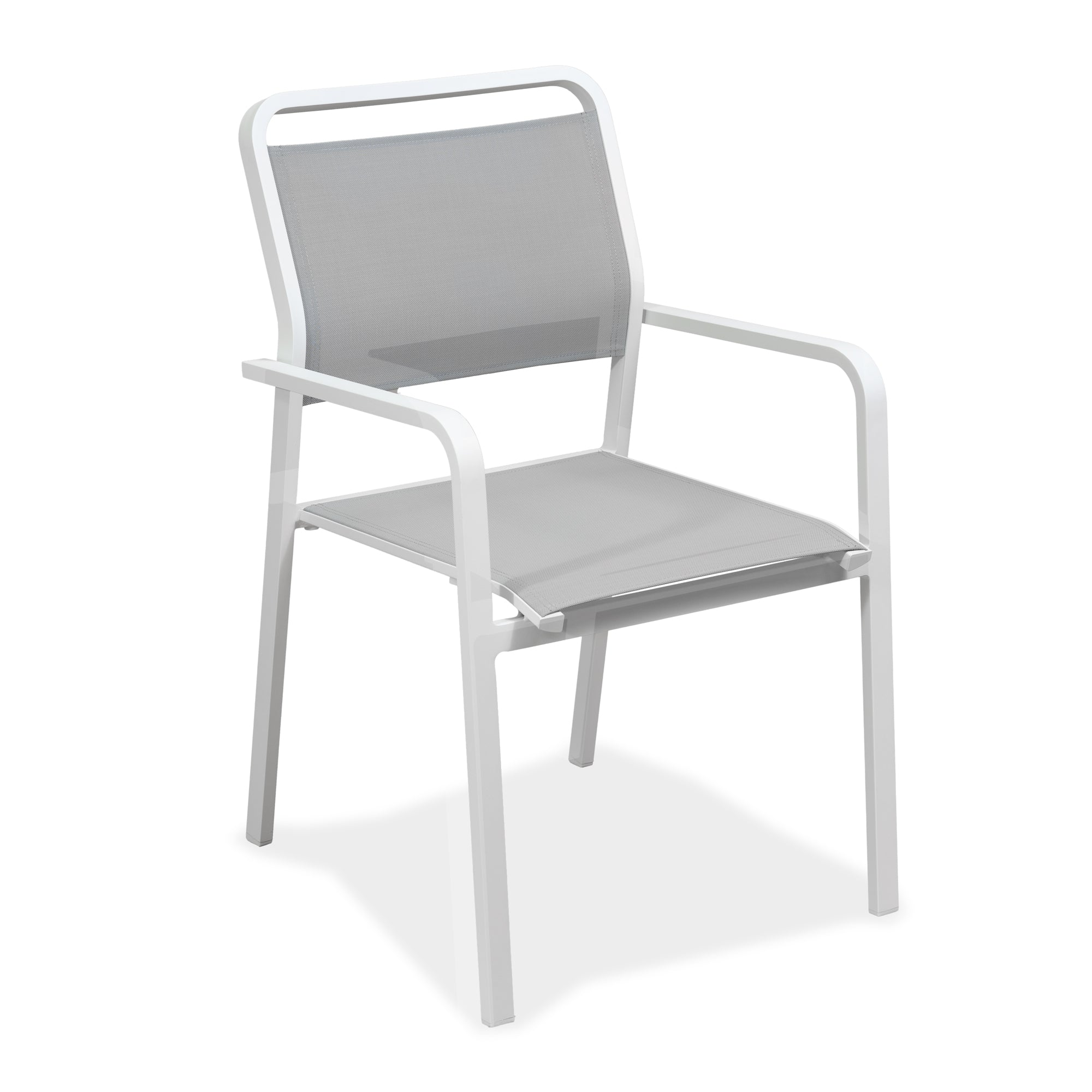 Eleve Outdoor Rounded Dining Armchair, Dining Chair - Home-Buy Interiors