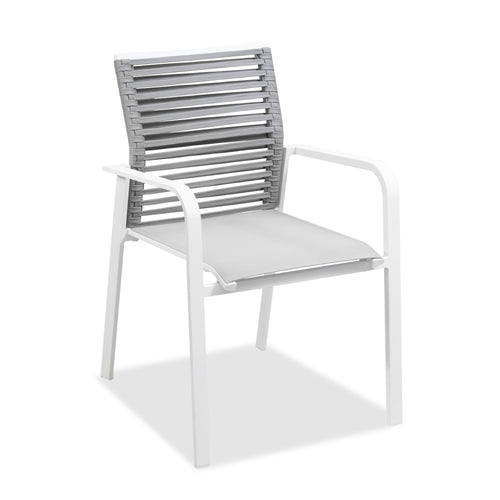 Eleve Outdoor Rope Dining Armchair, Dining Chair - Home-Buy Interiors