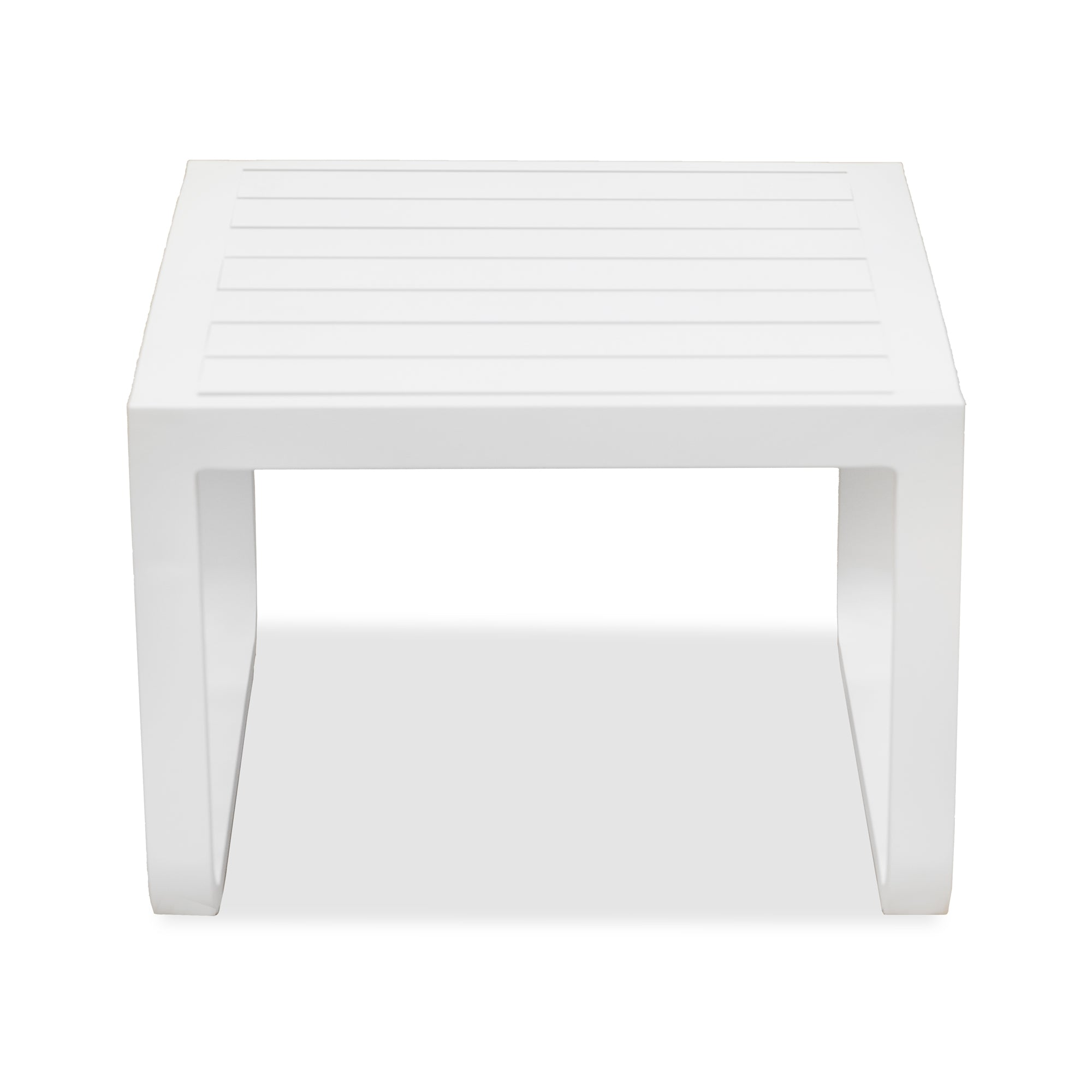 Eleve Outdoor Side Table White