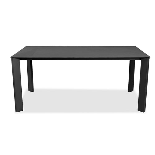 Evette Outdoor Dining Table - 180cm Anthracite Stone Top